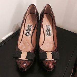 Ferragamo heels sexy classy designer lux pumps